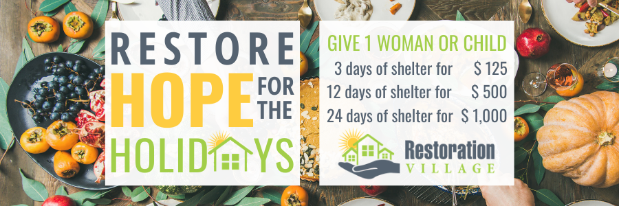 Restore Hope for the Holidays